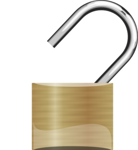 open-padlock