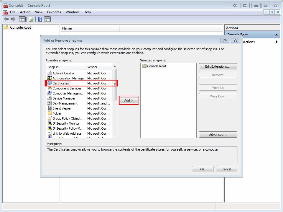Windows Server Certificate Export Sslwizard